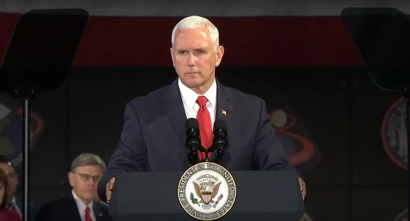 Vice President Mike Pence Announces the 2024 Lunar Goal