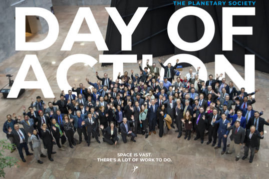 The 2020 Day of Action Title Card