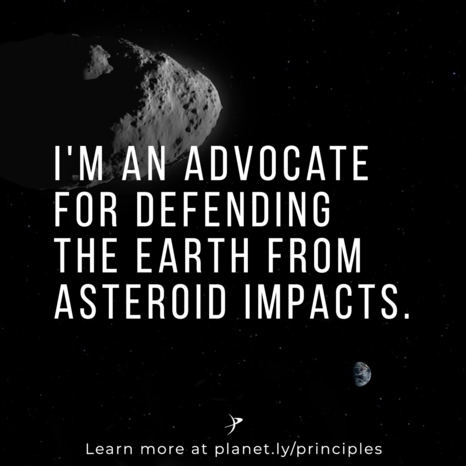 I'm and advocate for defending the Earth