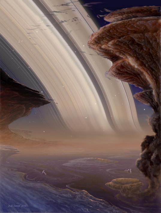 Saturn night
