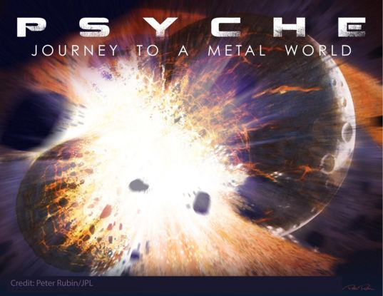 Psyche mission art