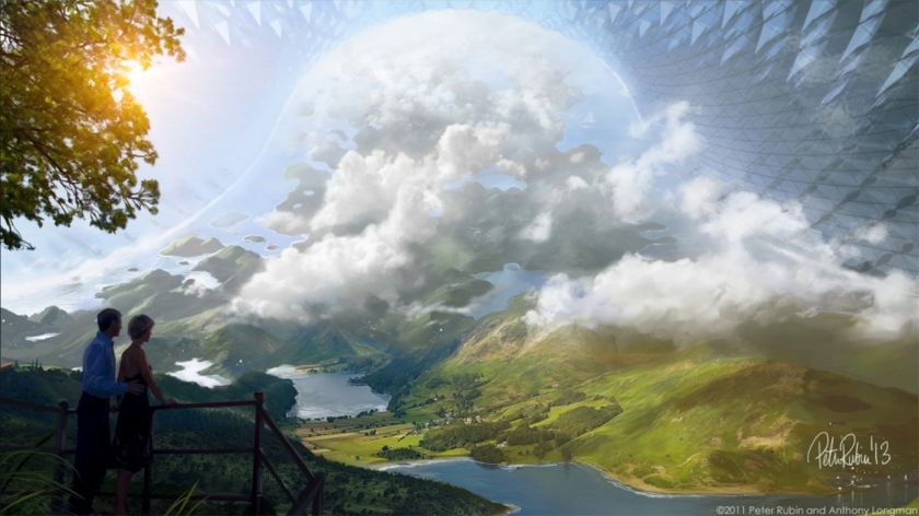 Future space habitats