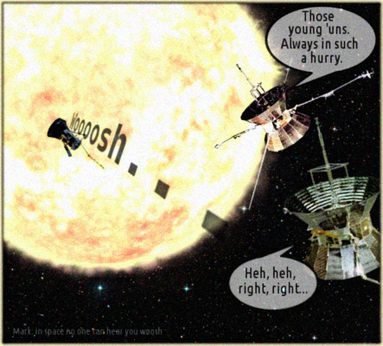 Parker Solar Probe and Helios
