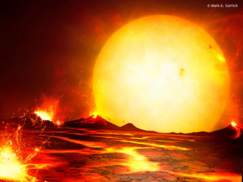 Molten Planet CoRoT-7b