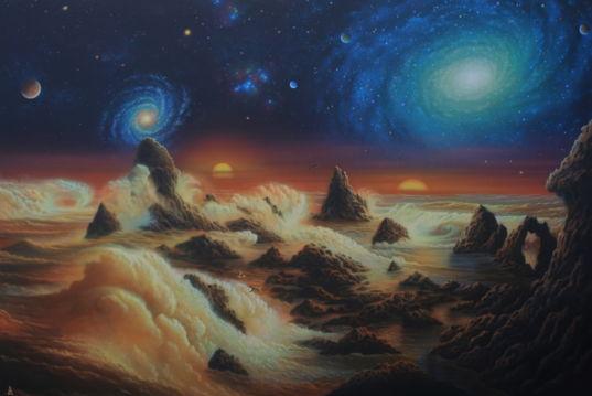 Cosmic Ocean, by Andrew Stewart