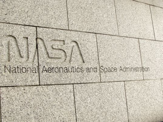 NASA Worm Logo HQ