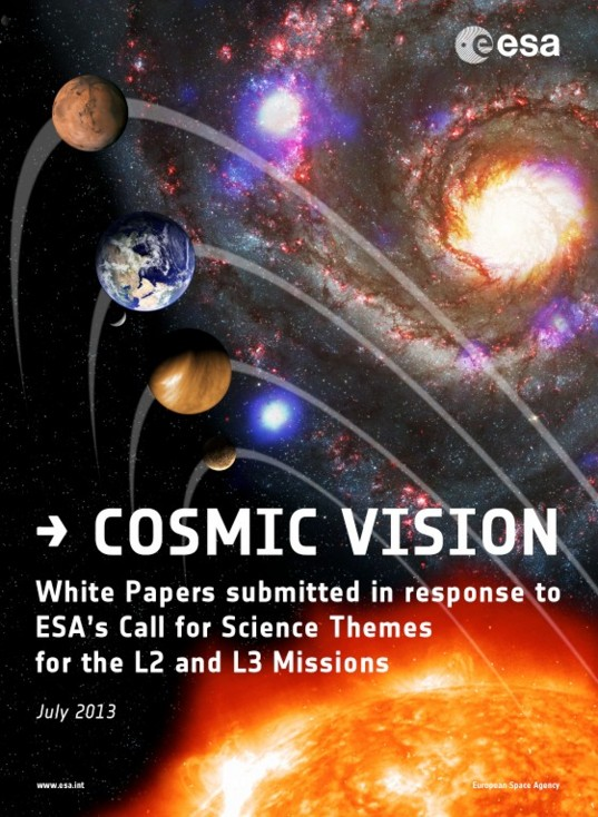 Cosmic Vision: White Papers submitted in response to ESA's Call for Science Themes for the L2 and L3 Missions