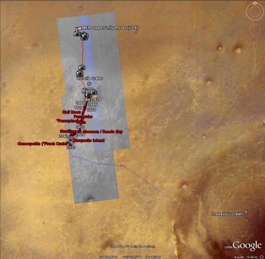 Google Mars: Opportunity