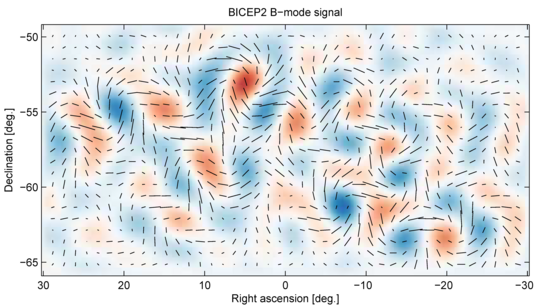 B-mode polarization image