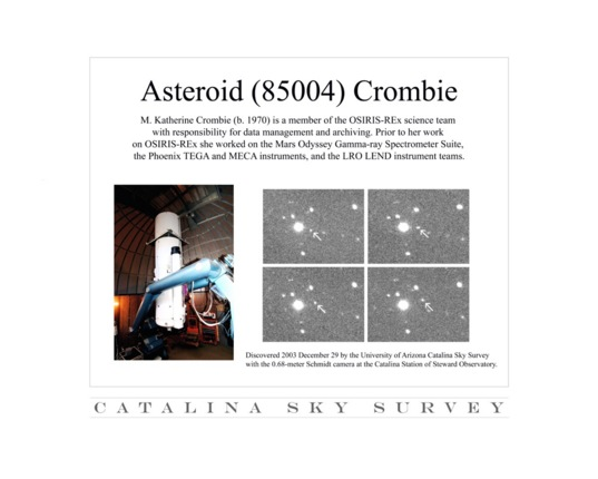 Asteroid Crombie