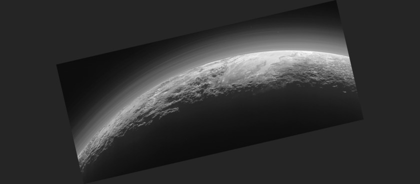 Cropped MVIC image of Pluto