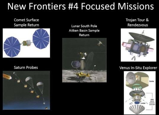 New Frontiers #4 focused missions