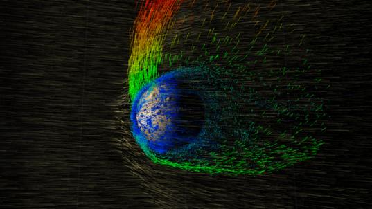 Visualizing Mars' atmosphere loss