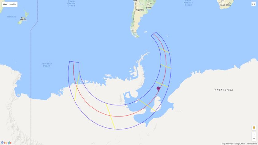 Eclipse map: December 4, 2021