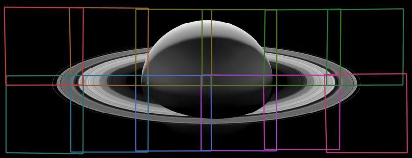 The footprints of Cassini's last dance