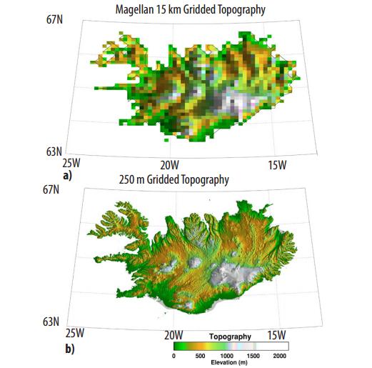 Modern radar resolution