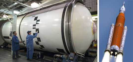 Painting a monster rocket's boosters