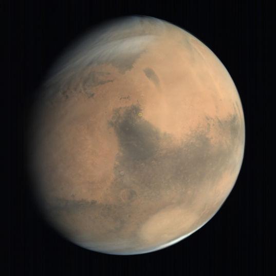 Location of Jezero Crater Mars 2020 landing site, Mars
