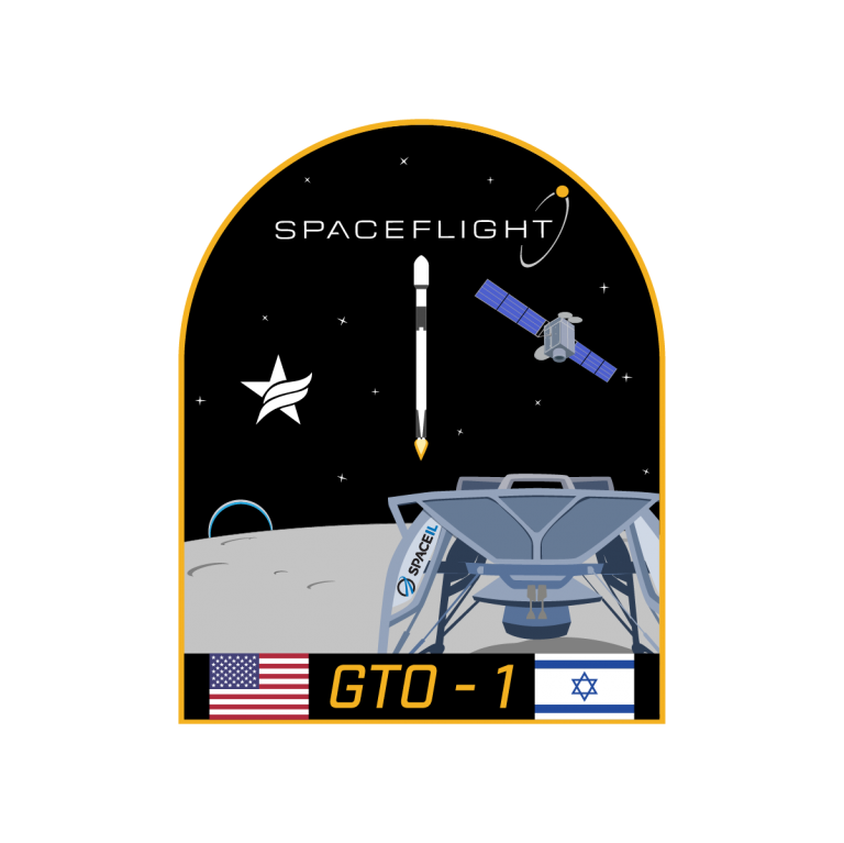 Spaceflight GTO-1 mission patch