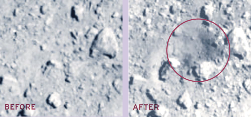 SCI Impact Site, Before and After