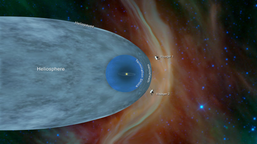Voyager 1 and 2 Outside the Heliosphere
