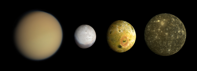 Moons with atmospheres