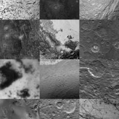 The solar system at 1 kilometer per pixel