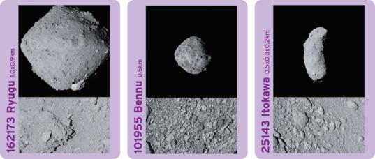 Three Tiny Near-Earth Objects