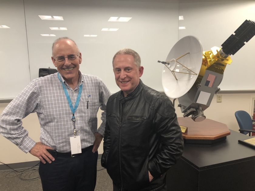 Mat Kaplan and Alan Stern