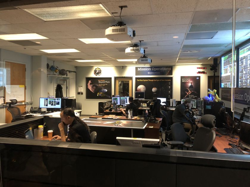The New Horizons Mission Operations Center at the Applied Physics Lab
