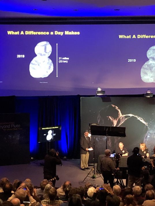 Image of 2014 MU69/Ultima Thule unveiled