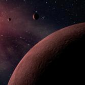 Mini planetary system (artist's concept)