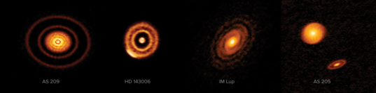 Nearby protoplanetary disks