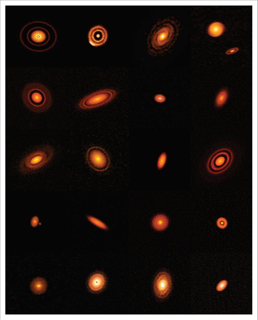 Twenty nearby protoplanetary disks