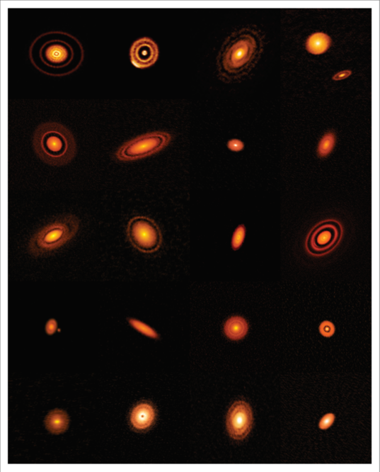 Twenty nearby protoplanetary disks