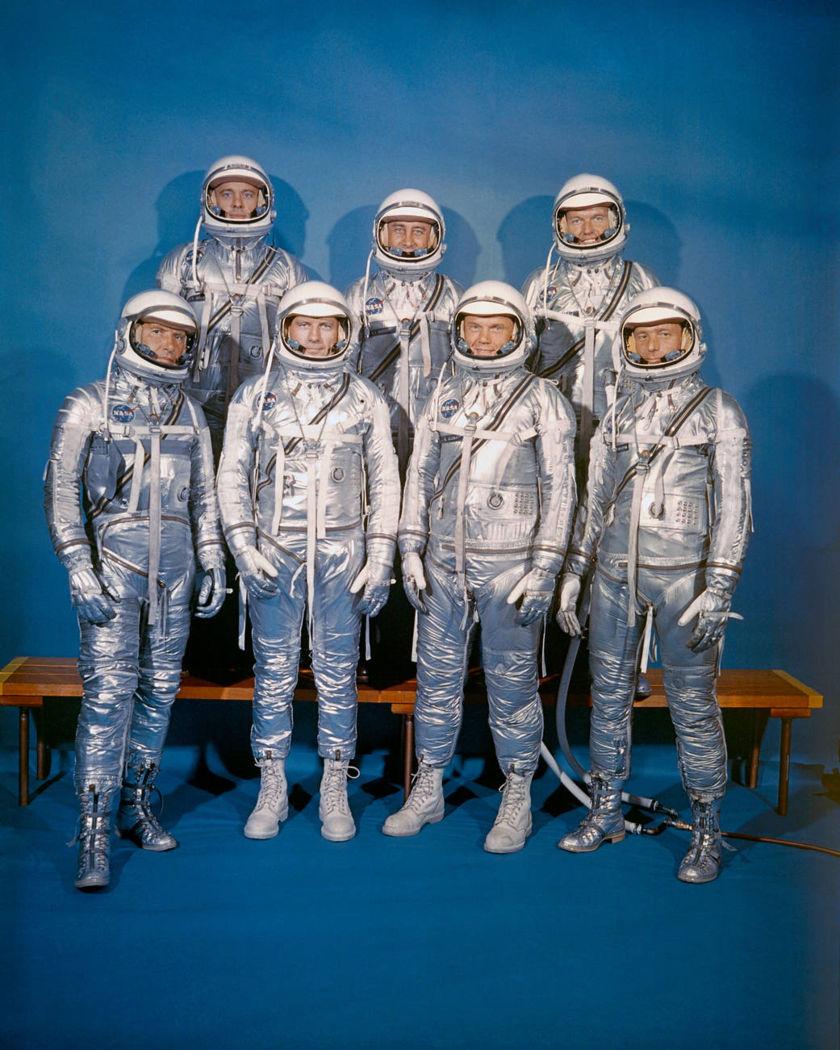 NASA's Mercury 7 astronauts