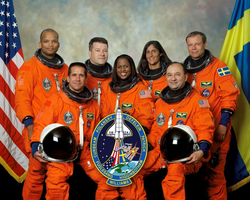 The STS-116 crew