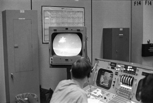 Apollo 15 departs the Moon