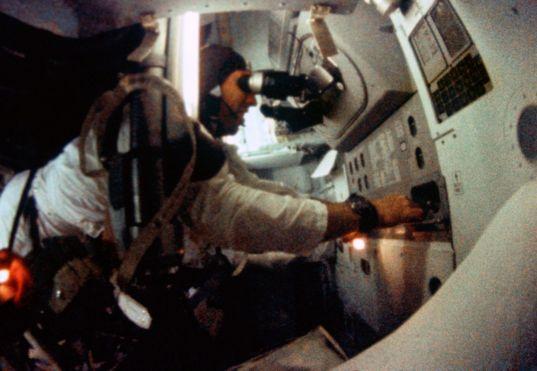 Astronaut James A. Lovell Jr.