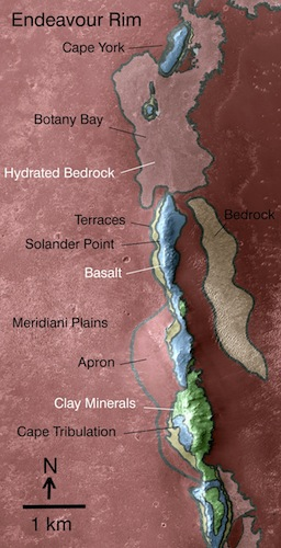 Geologic riches hidden in Endeavour