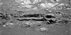 Finned outcrop