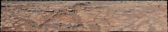 From the other side of Mars