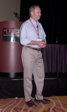 Ray Arvidson at LPSC