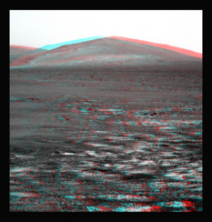 A 3D view of Solander Point