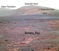 View of Solander Point