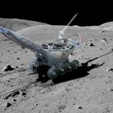Lunokhod 2 on the Moon