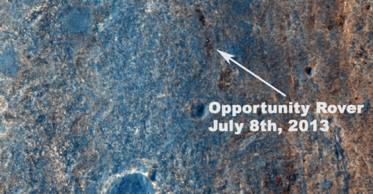Opportunity 10 years after launch