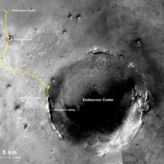 Opportunity 25mi Traverse Map
