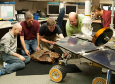 Recreating Mars meteorite