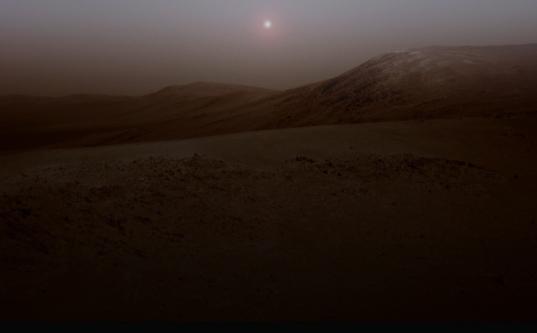 Endeavour at twilight